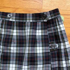 5c3ae8dbd1 unbranded Bottoms | Girls Plaid Pleated School Uniform Skirt 10 ...